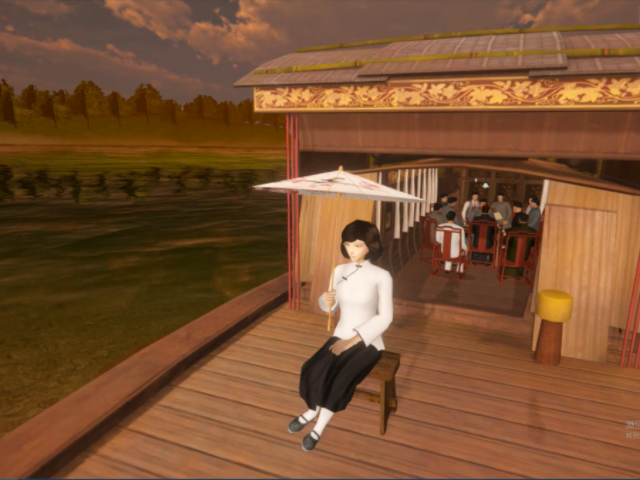 VR中共一大会议模拟体验