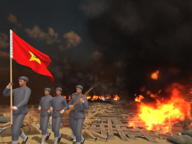 VR血战湘江模拟体验
