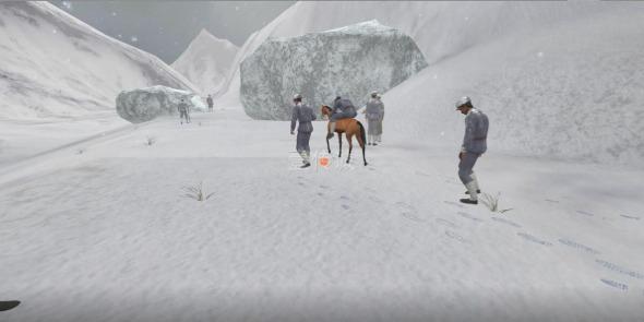 VR红军过雪山模拟体验